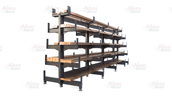 Console Armed Stock Shelf L-65.118